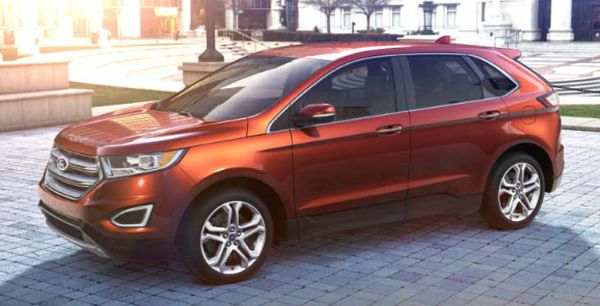 Ford Edge Colors