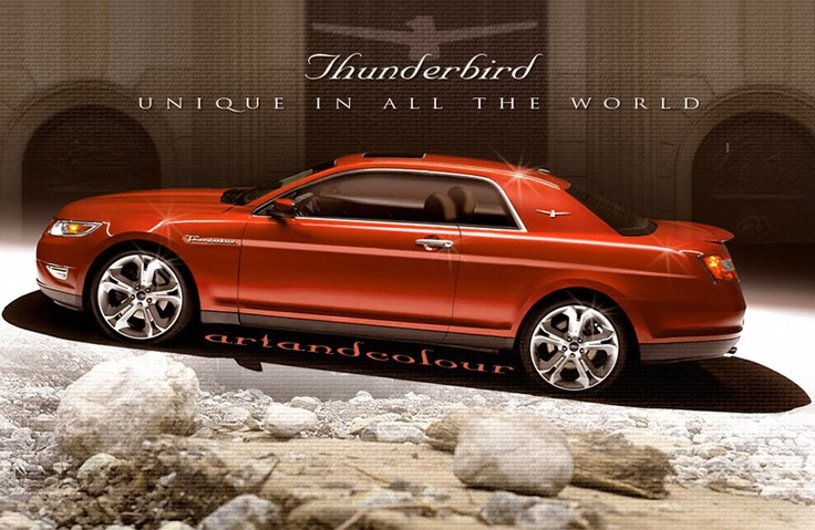 Ford Car Models 2017 >> New Ford Thunderbird 2018 Release date, Price, Design, Specs