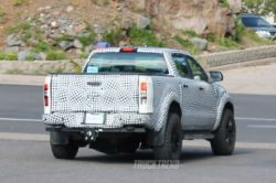 2019 ford ranger raptor rear quarter 250x166