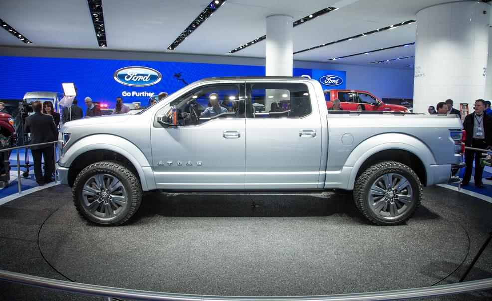 New Ford F150 >> Ford Atlas 2017 Design, Engine, Concept, Rumors