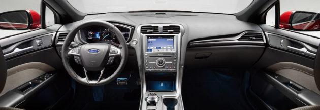Ford Mondeo 2018 Interior 630x217
