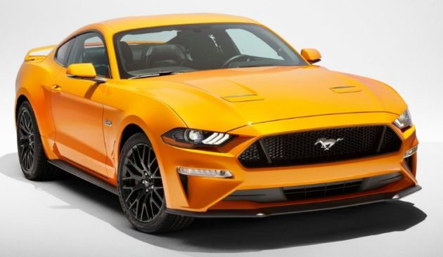 Ford Mustang GT 2018 630x366