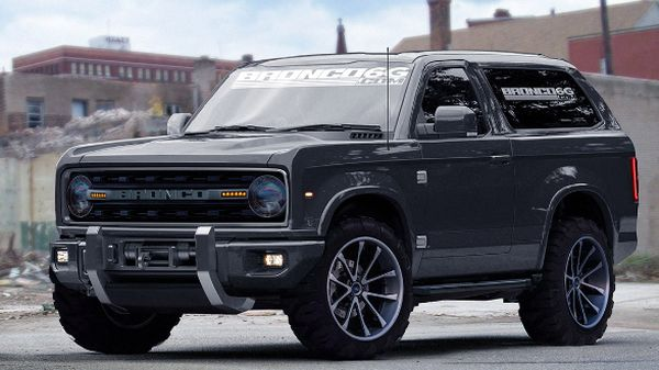 New 2017 Ford Bronco