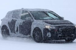 New 2019 Ford Focus spy 250x166