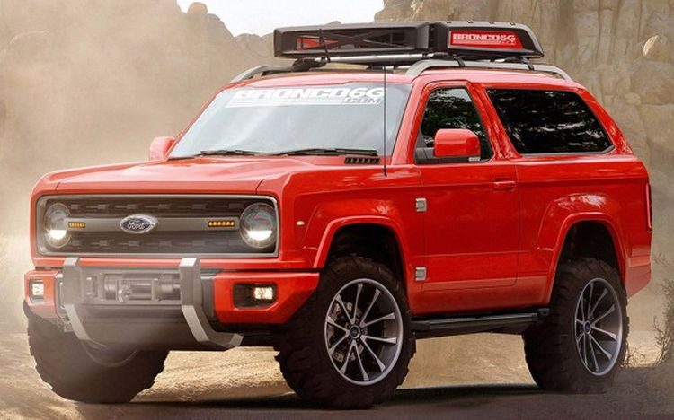 2017 Ford Ranger >> New 2020 Ford Bronco Concept Release Date